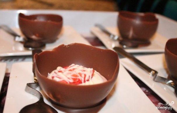 Шоколадные корзинки
