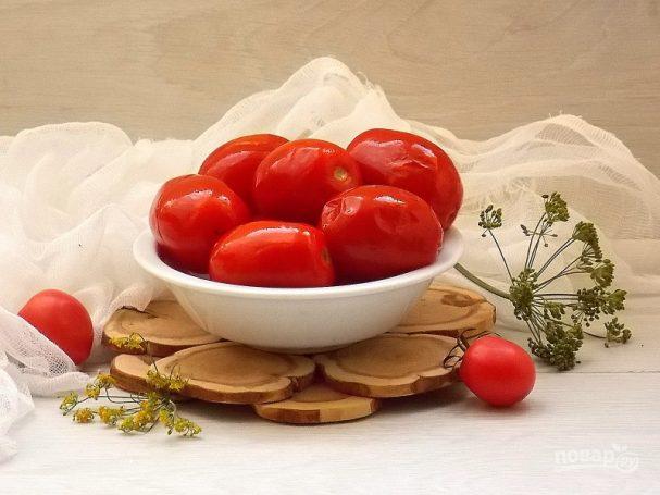 Соленые помидоры как бочковые