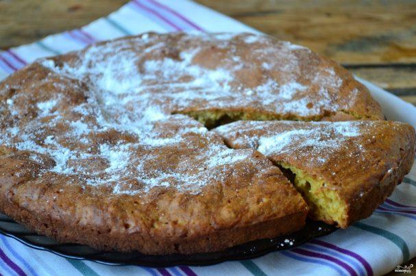 Сладкий пирог из кабачков