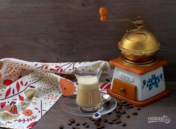 """Десерт """"Кофе с халвой"""""""