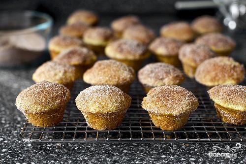Мини-кексы с корицей и коричневым маслом