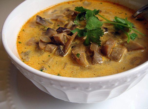Суп из волнушек