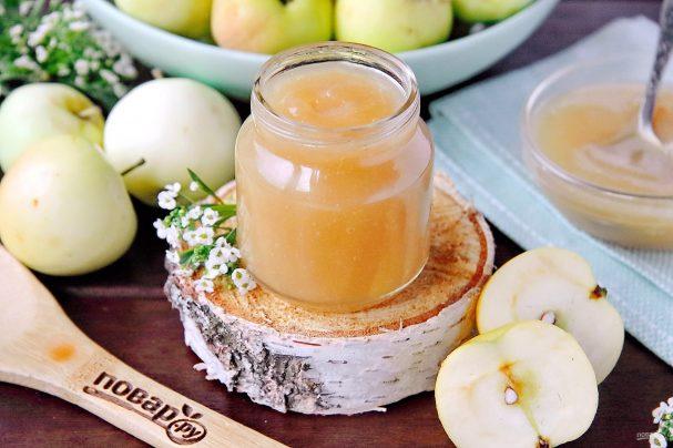 Яблочное пюре для грудничка на зиму