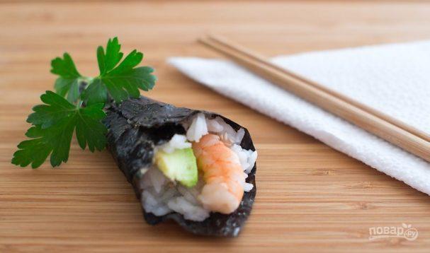 Суши простые