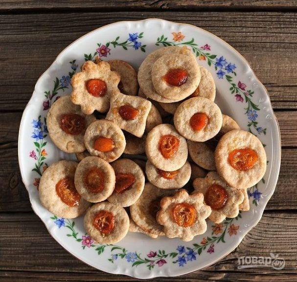 Печенье с кумкватом