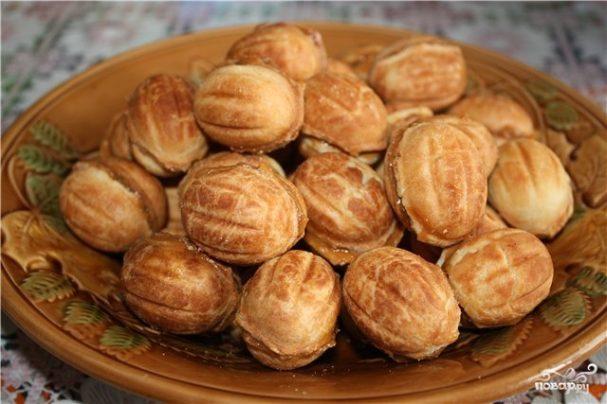Печенье «Орешки» со сгущенкой