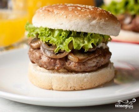 Гамбургер с сыром