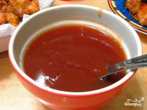 Кисло-сладкий соус, пошаговый рецепт с фото