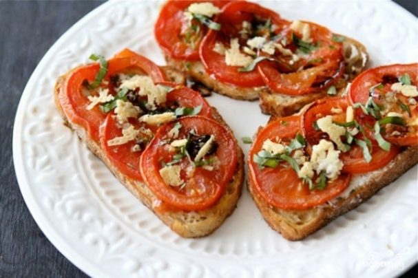 Постные бутерброды