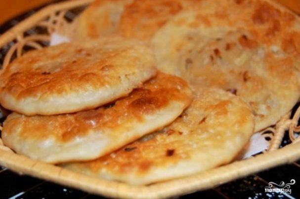 Луковая лепешка - пошаговый рецепт с фото на Повар.ру