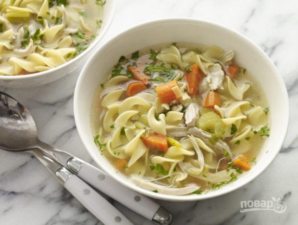 Домашняя лапша для куриного супа