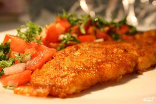 рецепт рыбы филе телапии