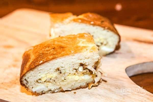 Пирог из кефира