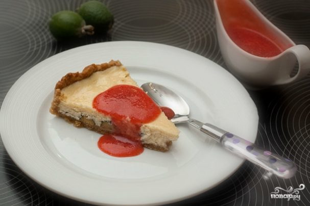 Пирог из фейхоа