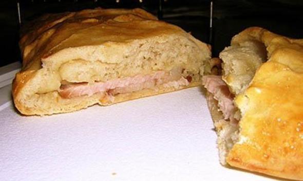 Сэндвич со свининой