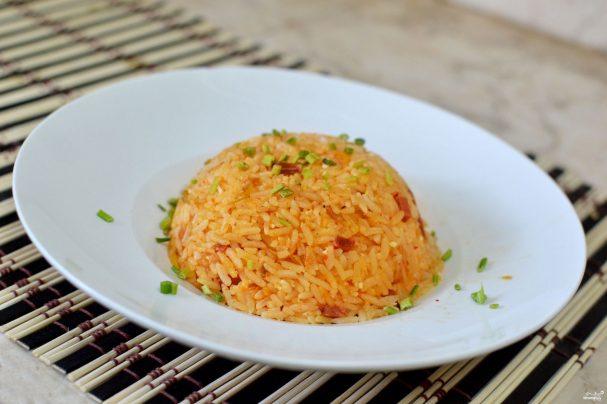 Кимчи с рисом