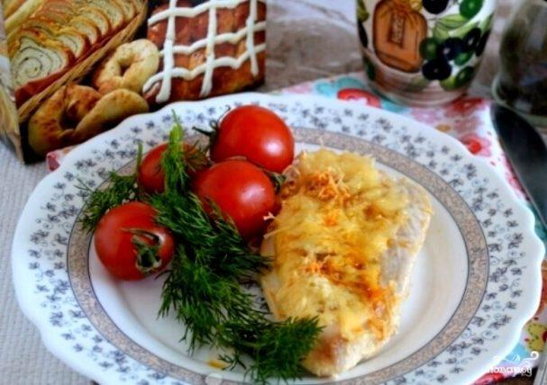 Индейка под сыром в духовке
