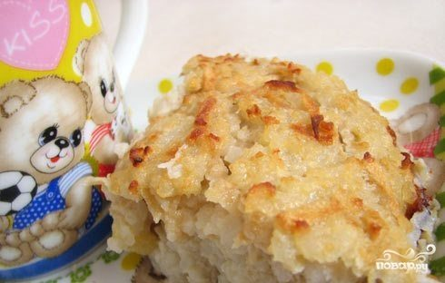 Рисовый пудинг для детей