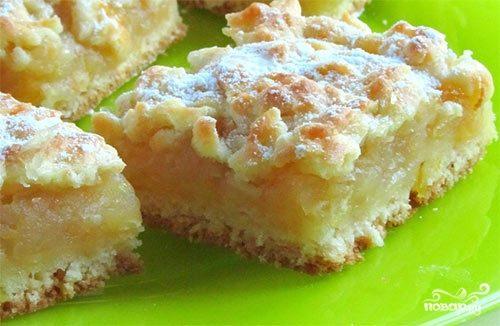 Яблочно-лимонный пирог