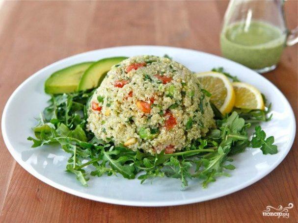 киноа с авокадо пошаговый рецепт с фото на поварру