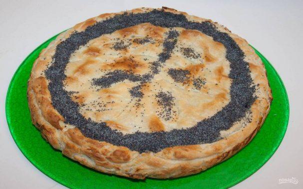 Пасхальный пирог со шпинатом и рикоттой