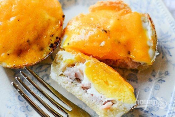 Маффины с яйцом на завтрак