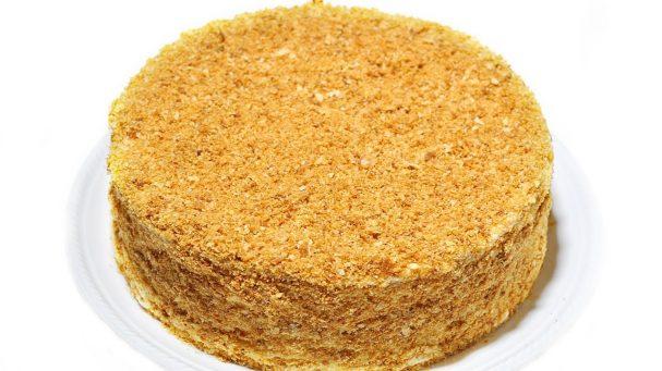 "Торт ""Наполеон"" из слоеного теста"
