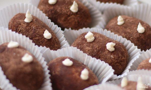 Как сделать шоколадную картошку 422