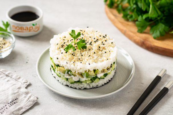 Ленивые суши