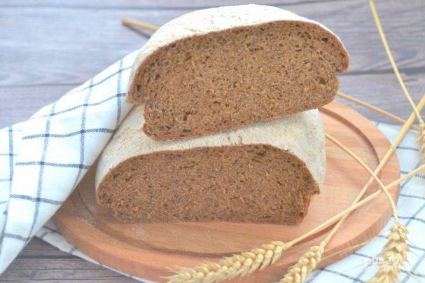 Хлеб с сухим квасом