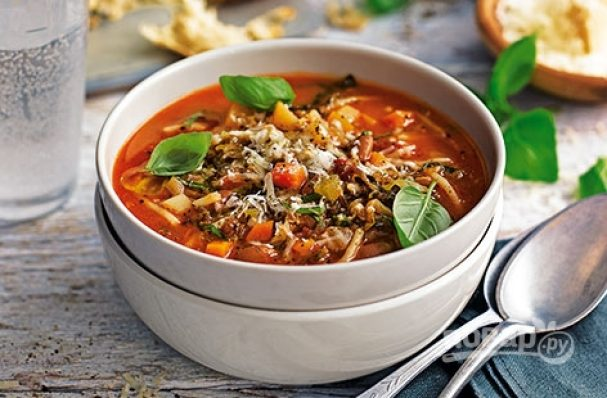 Минестроне. Итальянский суп