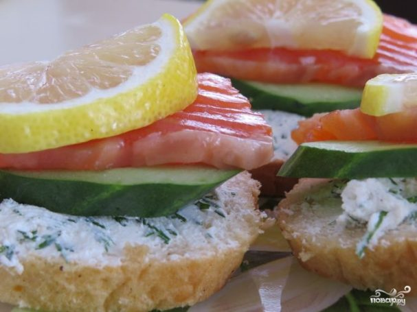 Простые бутерброды на скорую руку