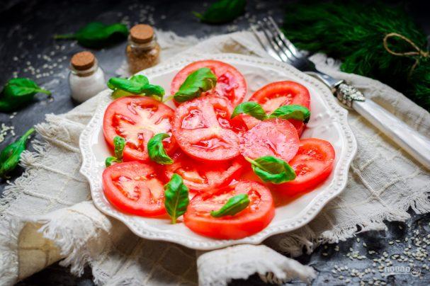 Салат из помидоров по-пекински