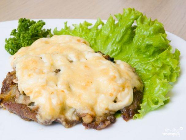Мясо по-французски из говядины в мультиварке