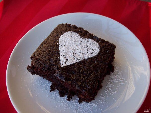 Постный шоколадный кекс