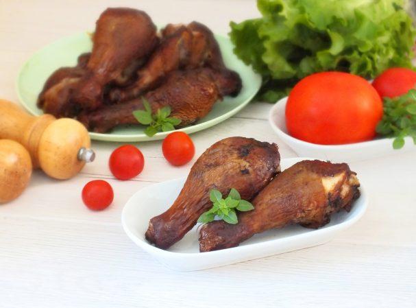 Куриные голени горячего копчения