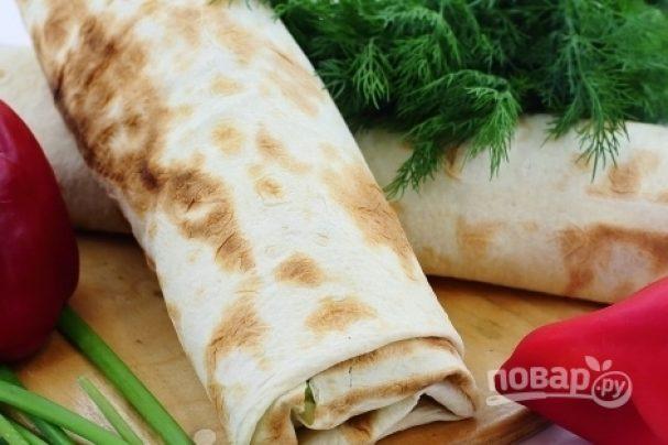 Рецепт шаурмы со свининой