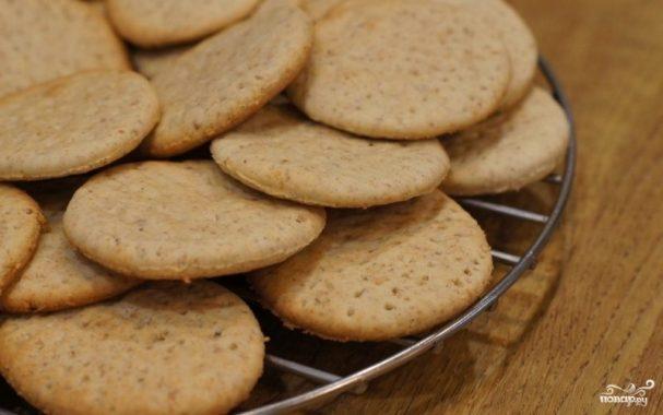 рецепт печенья галетного