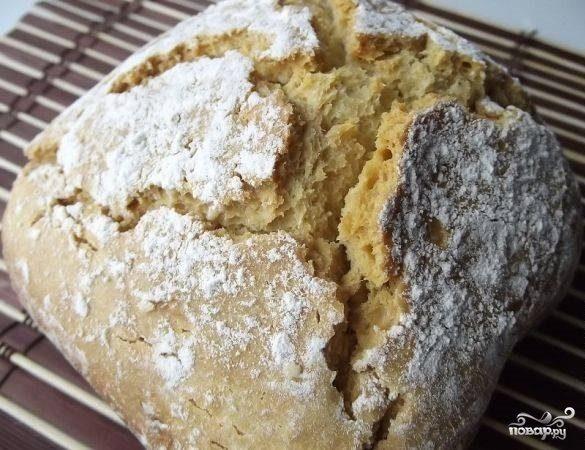 Хлеб в хлебопечке без дрожжей