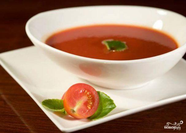 Детский томатный суп