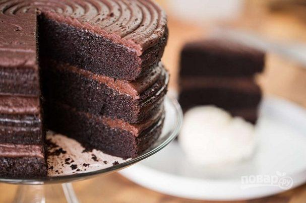 """Шоколадный тортик """"Мега"""""""