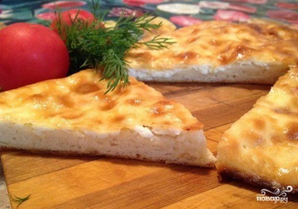 Хачапури с сыром простой