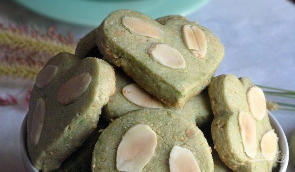 Печеньки с зеленым чаем