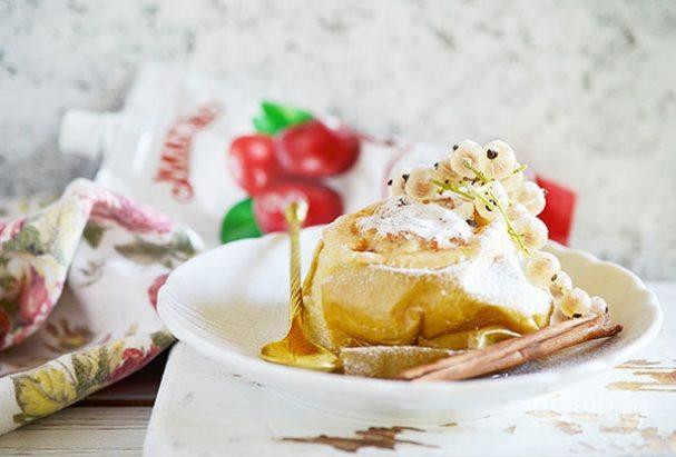 Лучший рецепт печеного яблока с джемом
