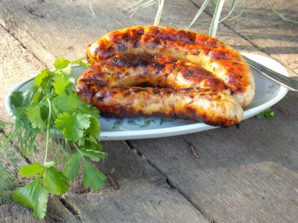 Куриные колбаски-гриль