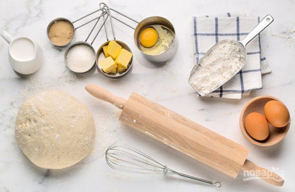 Тесто для пасхального кулича