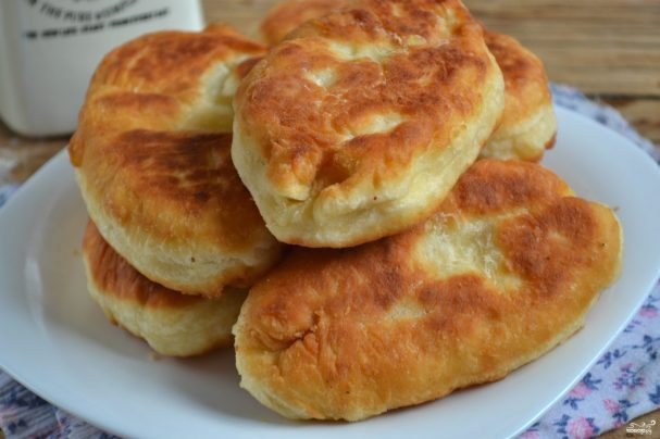 Бездрожжевое тесто для пирожков на кефире