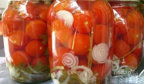 Консервирование помидоров на зиму