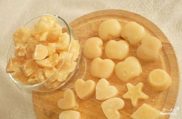 конфетки из сахара в домашних