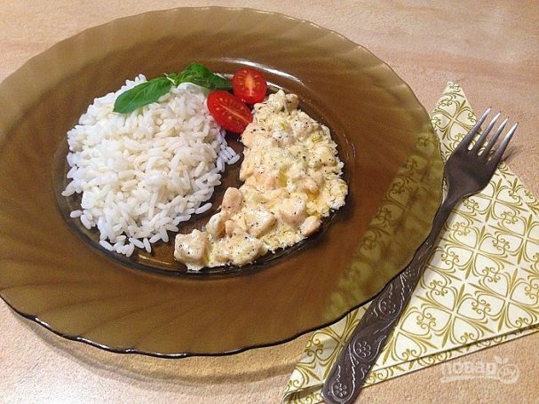 Сливочно-рыбный соус